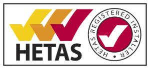 Heart Bristol Woodburners are HETAS registered