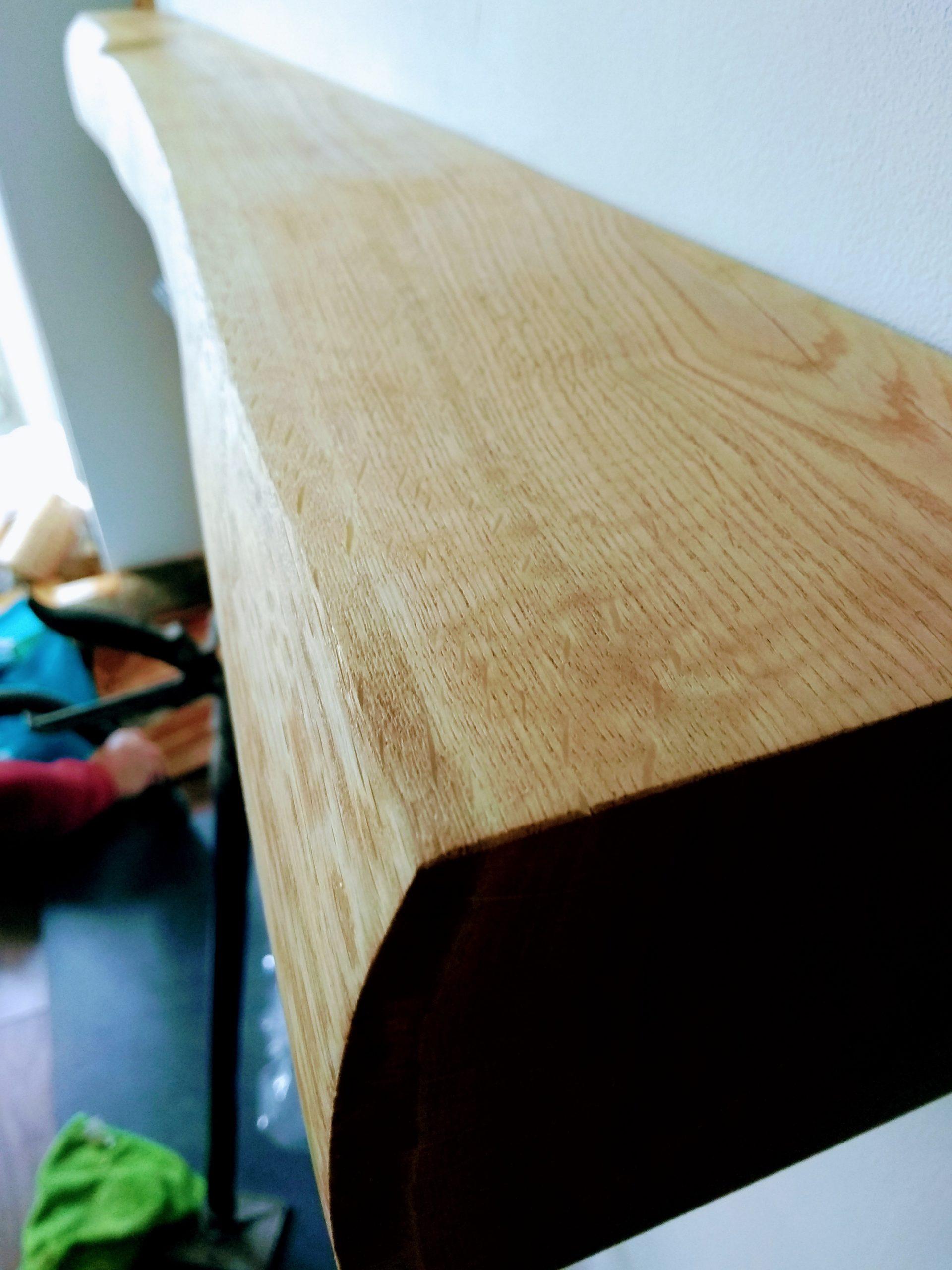 Oak Beam fitted side Bristol